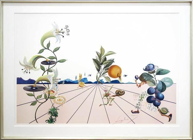 Salvador Dalí, 'Flordali I', 1981, Print, Colour lithograph, Galerie Kellermann