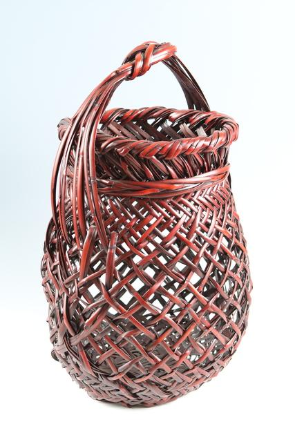 , 'Bamboo Basket (T-3720),' Heisei era (1989-present) ca 2005, Erik Thomsen