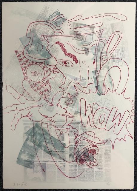 CRASH, 'WOW', 1990, DANE FINE ART