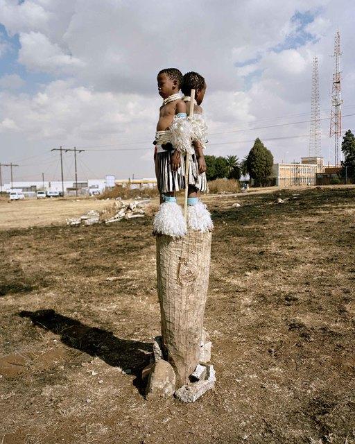 ", 'Struggle, from the series ""Zulu Kids"" ,' 2014, Art Twenty One"