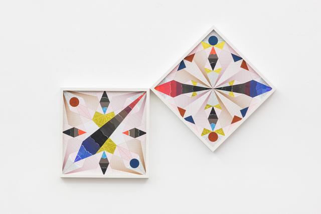 , 'Minuscule Kaleidoscopic Tickings – Trustworthy #321,' 2017, kurimanzutto
