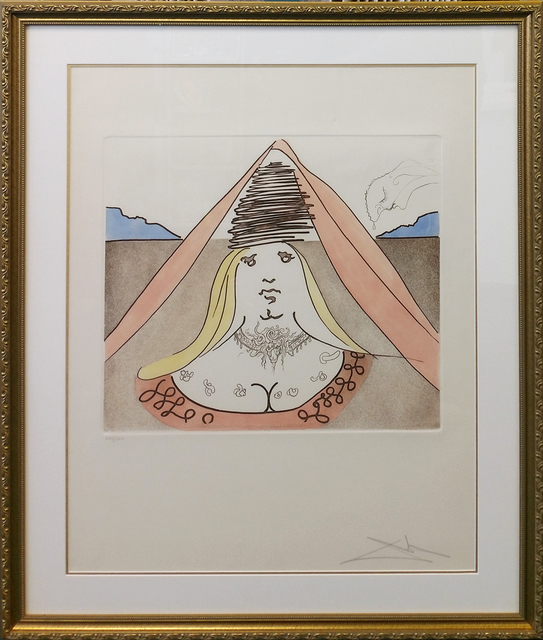 Salvador Dalí, 'THE LADY DULCINEA', 1981, Gallery Art