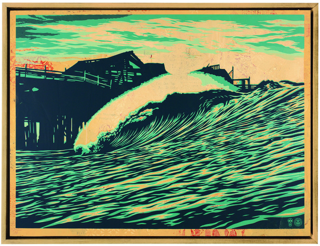 Shepard Fairey (OBEY), 'P.O.P. Wave', 2016, Underdogs Gallery