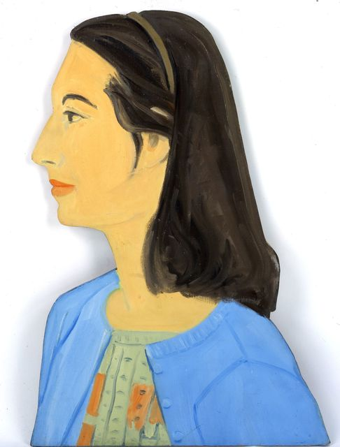 Alex Katz, 'Ada in Blue Sweater', 1959, Colby College Museum of Art