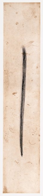 Tom Marioni, 'Drawing a Line', 2012, Crown Point Press