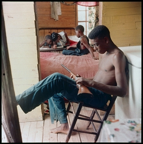 , 'Willie Causey, Jr., with Gun During Violence in Alabama, Shady Grove,' 1956, Jenkins Johnson Gallery