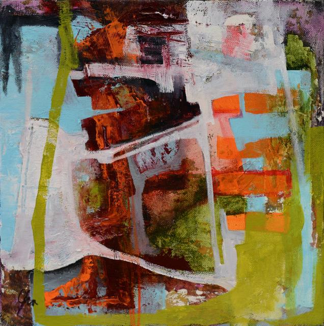 , 'Tangerine Whisper,' 2015, Abend Gallery