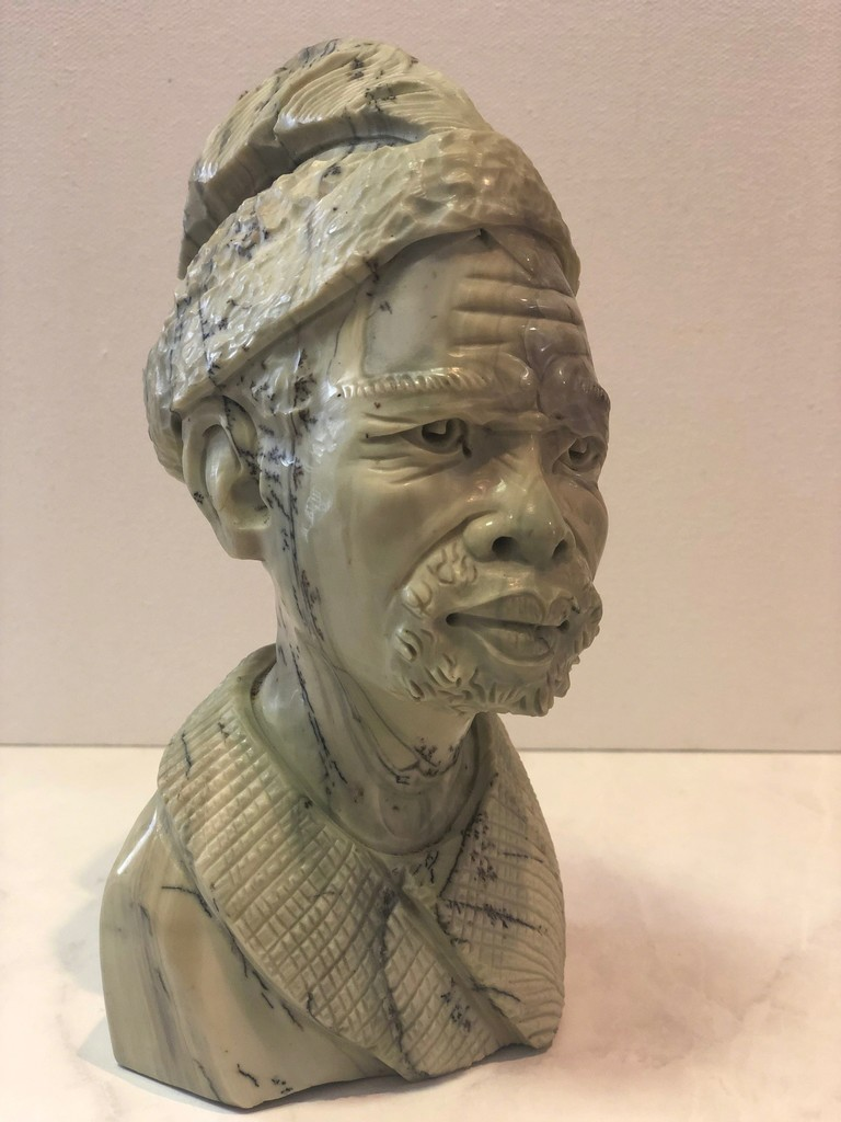 Aron Kapembeza Sculpture on Exhibit at Art Gallery Pure for Art of Design 2019