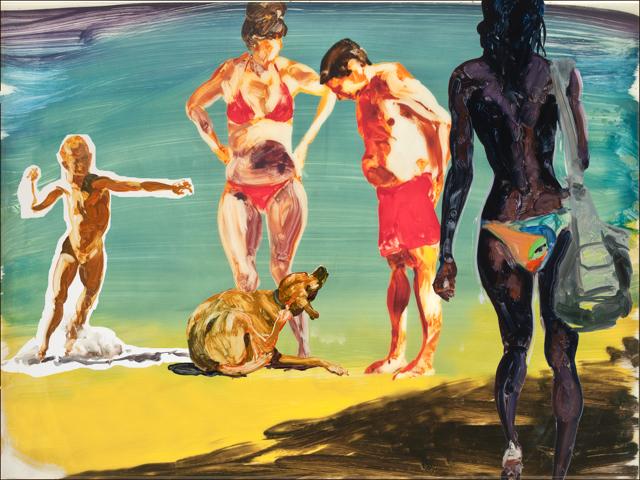 , 'On the Beach ,' 2016, Barbara Edwards Contemporary