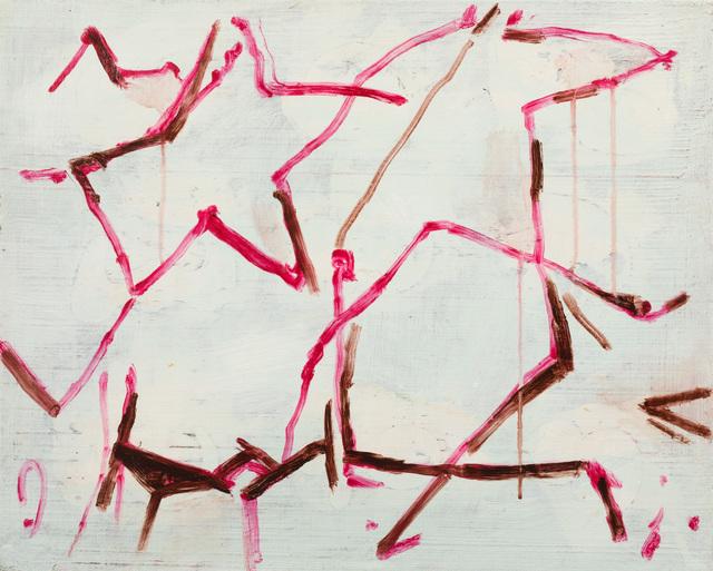 Fik van Gestel, 'Afspraak', 2018, Painting, Acrylics on linen, Galerie Zwart Huis