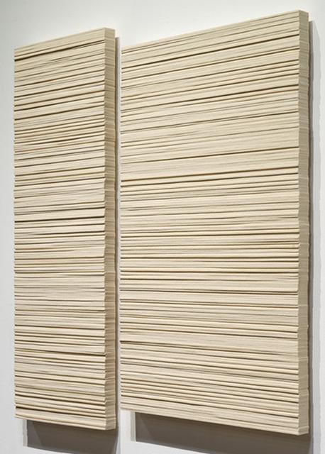 , '(2) Slabs (In Memory),' 2017, Pentimenti Gallery