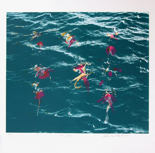 John Dowell, 'She Sings', 2003, Print, Lithograph, Stanek Gallery