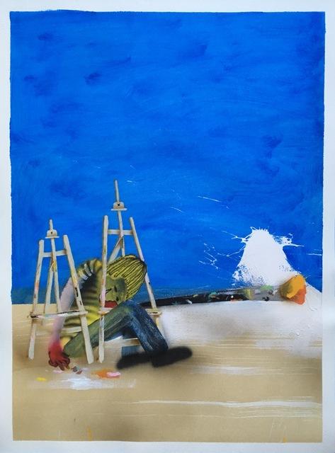 , 'PRIMARIES (BLUE),' 2017, Deep Space Gallery