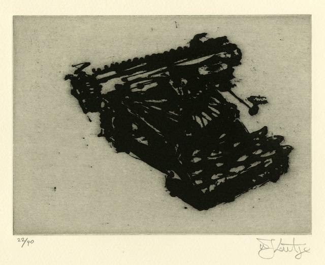 , 'Typewriter VII,' 2003, Thomas French Fine Art