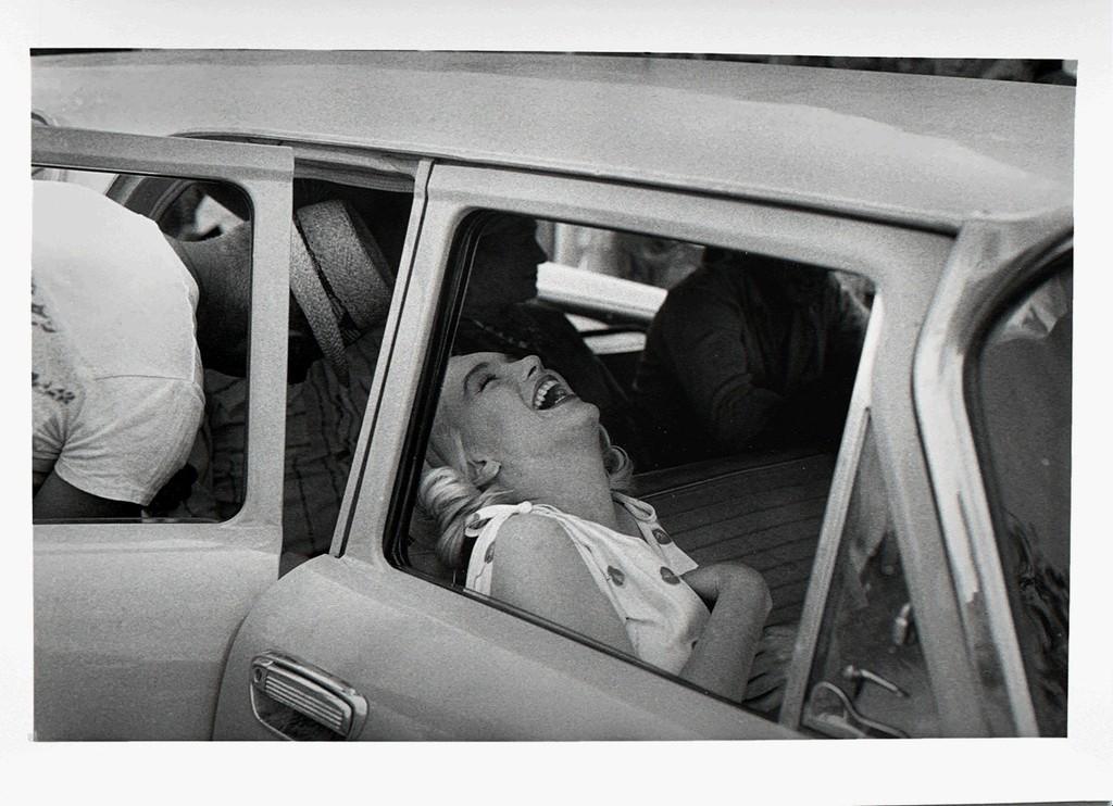 Marilyn Monroe Laughing, 1960 by Ernst Haas