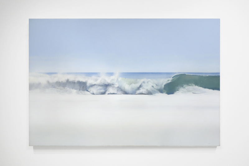 "Todd Kenyon, LAGUNA WAVE, Oil on Canvas, 40"" x 60"""