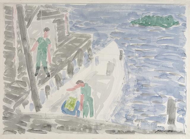 , 'Loading Bait #1,' 1986, Dowling Walsh