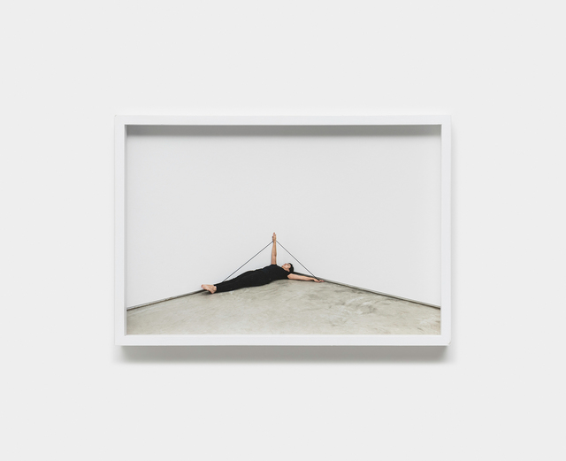 """, 'A Pequena Morte - series """"Line Pieces"""",' 2017/2018, Galeria Raquel Arnaud"""