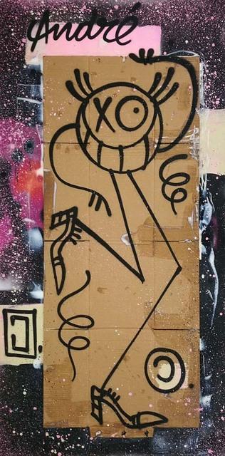 , 'Mr A. on constellation,' 2017, Danysz Gallery