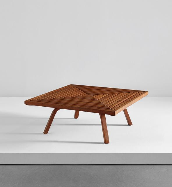 Edward Durell Stone, 'Rare coffee table', circa 1951, Phillips