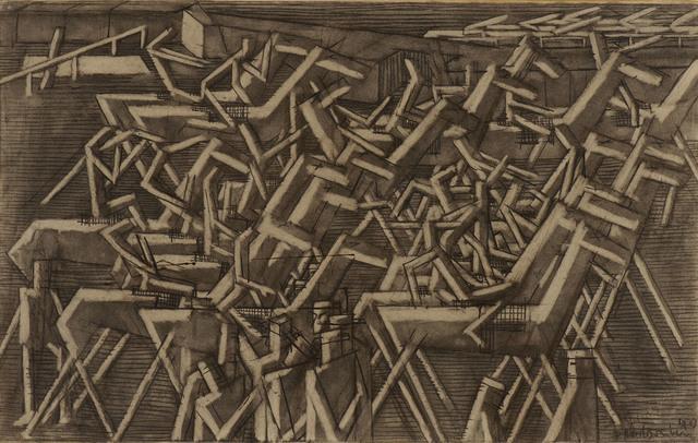 , 'Racehorses,' 1913, Ben Uri Gallery and Museum