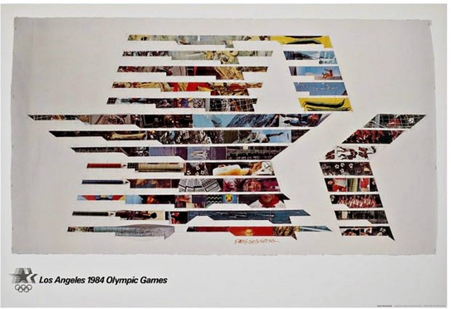 Robert Rauschenberg, 'Los Angeles 1984 Olympic Games (with signed Embossed Olympic Committee COA)', 1982, Alpha 137 Gallery Gallery Auction