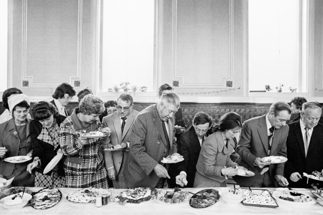 , 'Mayor of Todmorden's Inaugural Banquet, 1977,' 2015, Field Editions