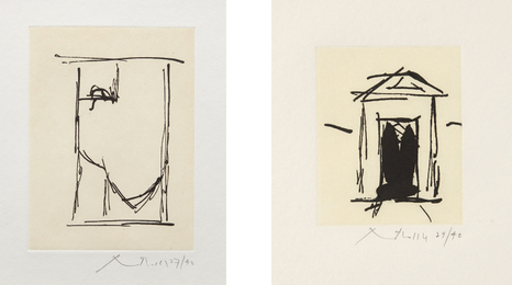 Robert Motherwell, 'House of Atreus; and España II,' 1983, Phillips: Evening and Day Editions (October 2016)