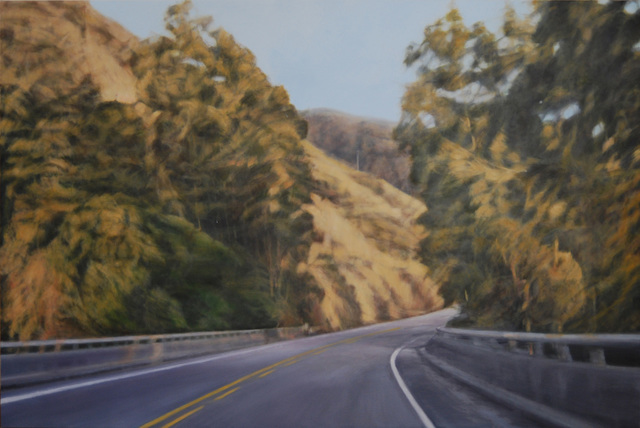 """Clifford Smith, '""""Pacific Light on Coastal Highway""""', 2012, Painting, Oil on linen, Scott White Contemporary Art"""