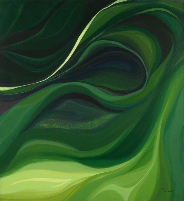 Lilian Thomas Burwell, 'Greening', 1983, Painting, Acrylic on canvas, Berry Campbell Gallery