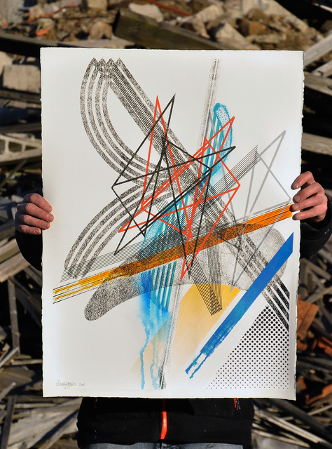, 'Tirage unique sérigraphié #01,' 2016, Mirus Gallery