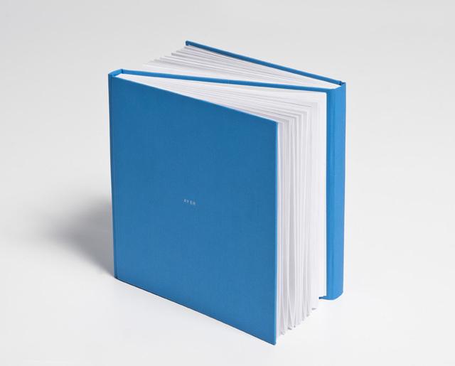 , 'Libro Azul (Ayer-Mañana),' 2012, Casas Riegner