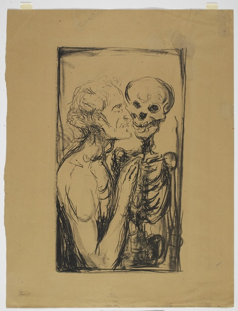 , 'Dødsdans (Dance of Death),' 1915, Munch Museum