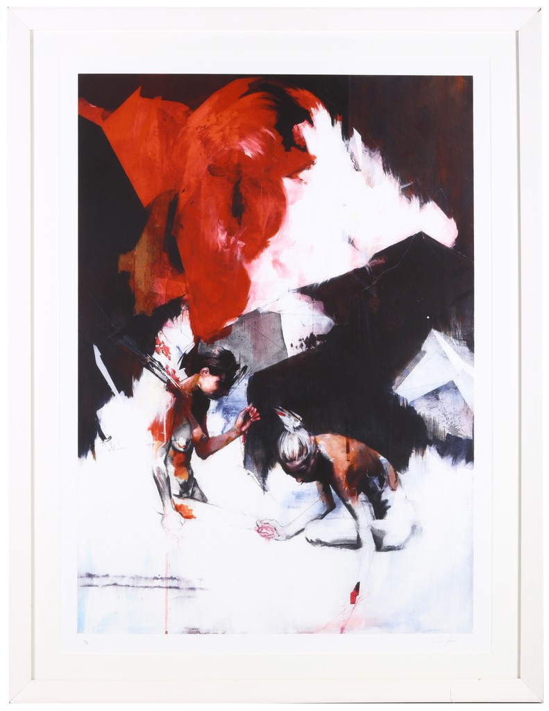 Ian Francis, 'Two People Spend A Day In The Snow', 2007, Chiswick Auctions