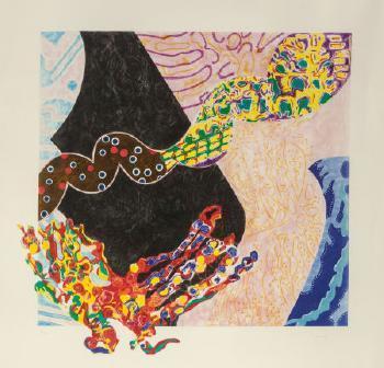 Nancy Graves, 'Borborygmi', 1988, Puccio Fine Art