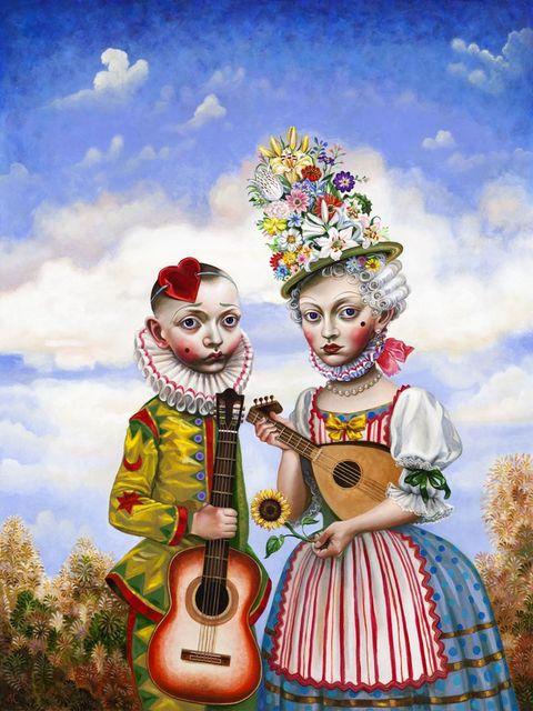 , 'The Performers,' 2017, Nancy Hoffman Gallery