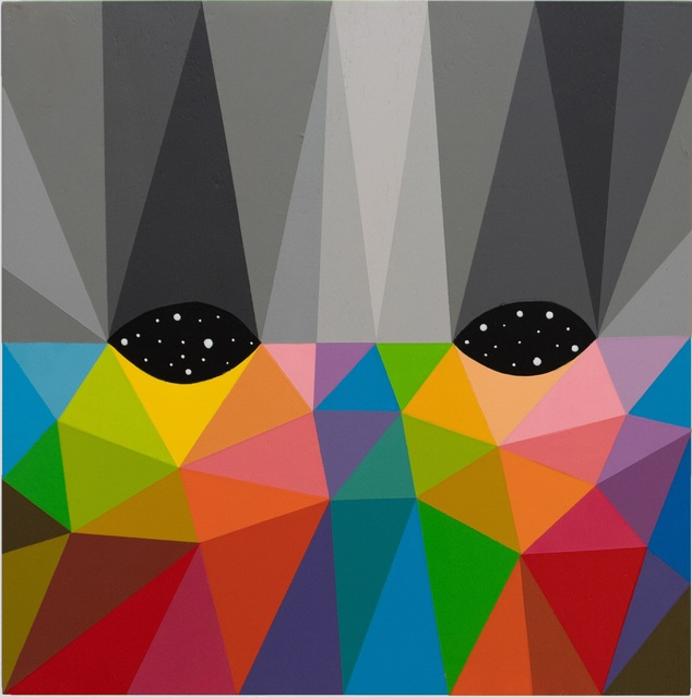 Okuda San Miguel, 'Eye to the universe (VIII)', 2019, MAGMA gallery