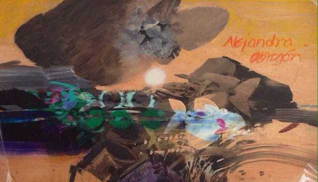 , 'Detalle de un Oceano ,' ca. 1987, Galería Duque Arango