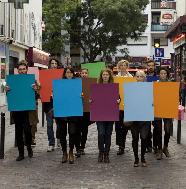, 'Manifestation des couleurs,' 2012, Rodolphe Janssen