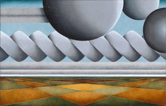 , 'Constable Landscape I,' 2012, Louis Stern Fine Arts