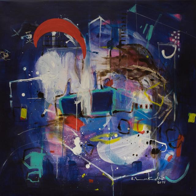 , 'Zenith ,' 2015, AfricArt Gallery Hong Kong
