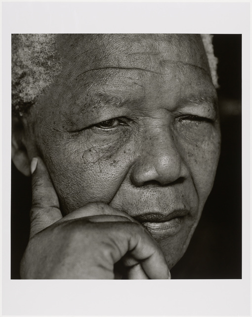 , 'Nelson Mandela, Johannesburg,' 1994, Museum of Fine Arts, Boston