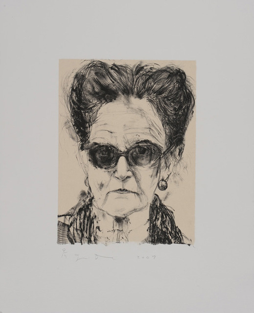 , 'Madame and Her Sunglasses,' 2009, Tamarind Institute