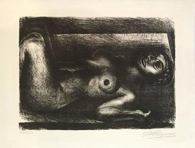 David Alfaro Siqueiros, 'Untitled', 1930, Print, Lithograph, Bethesda Fine Art