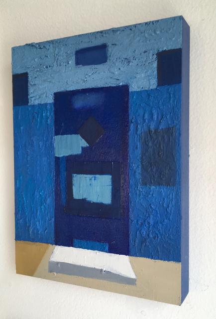 Francesca Reyes, 'Door #15', 2018, Painting, Oil on panel, Deep Space Gallery