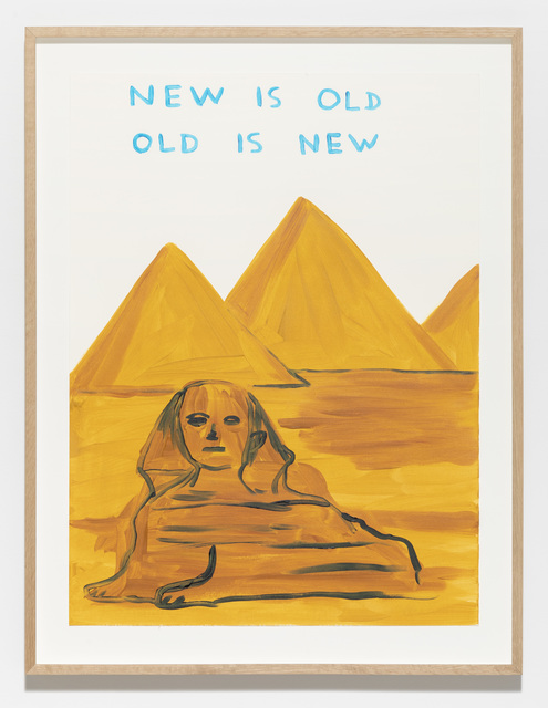 , 'Untitled (New is old),' 2019, Galleri Nicolai Wallner