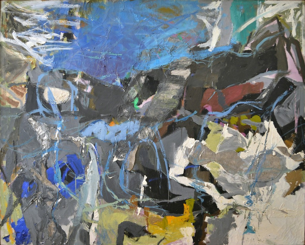 female abstract expressionists who are not helen frankenthaler perle fine