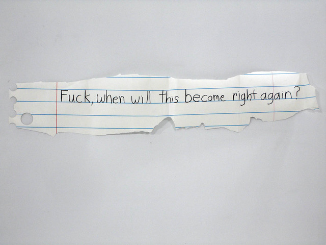 Michael Scoggins, 'Right Again?', 2010, Marker, colored pencil on paper, Freight + Volume