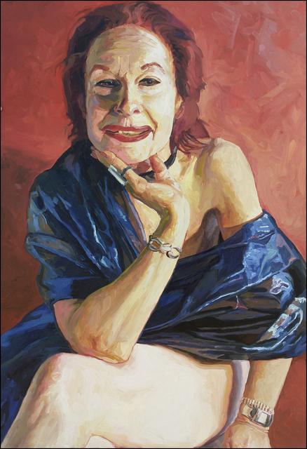 Laura Alexander, 'Olivia, Blue Nude', 2005, Mana Contemporary