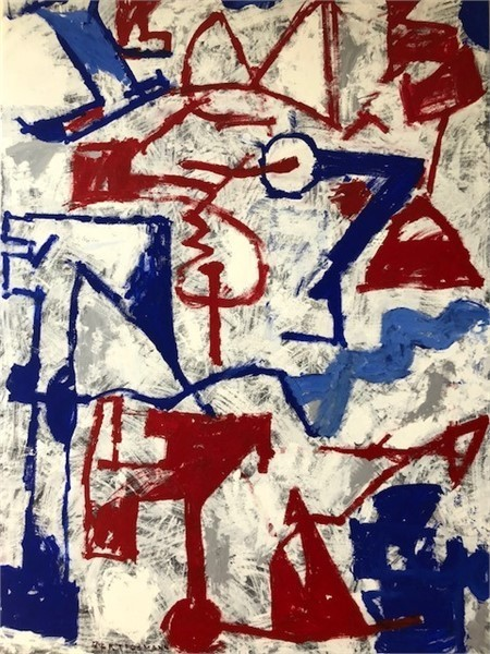 Harry Bertschmann, 'Ab-Ex Shapes Series No. 28', 1965, Quogue Gallery